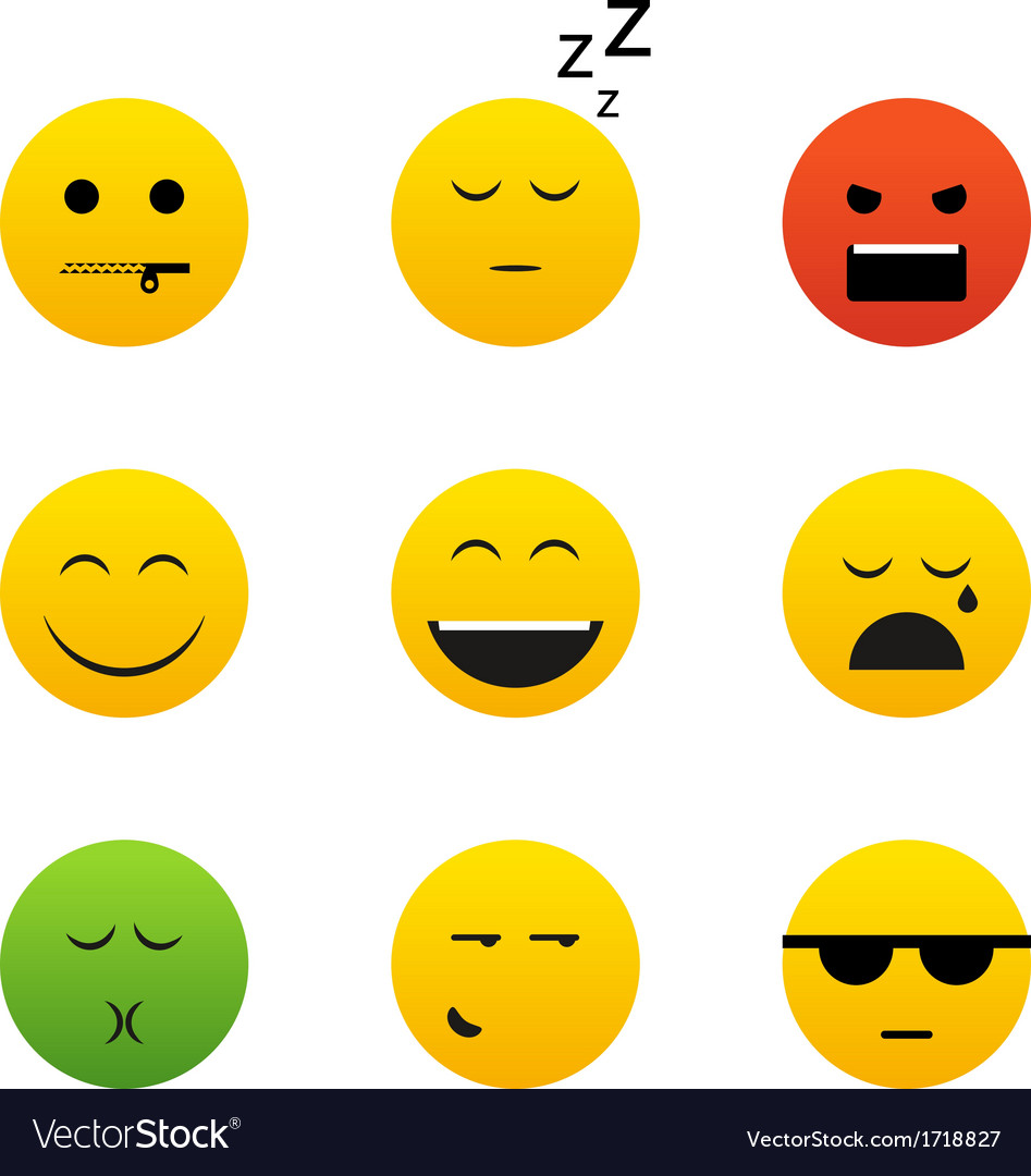 Smiles collection vector | Price: 1 Credit (USD $1)