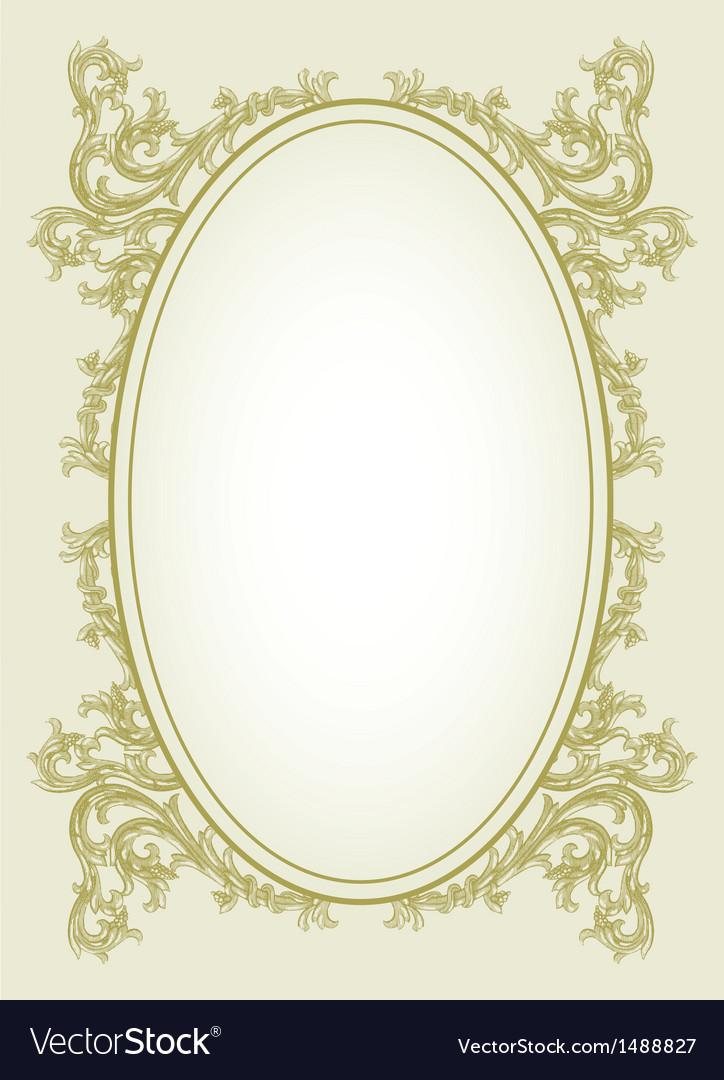 Victorian border vector | Price: 1 Credit (USD $1)