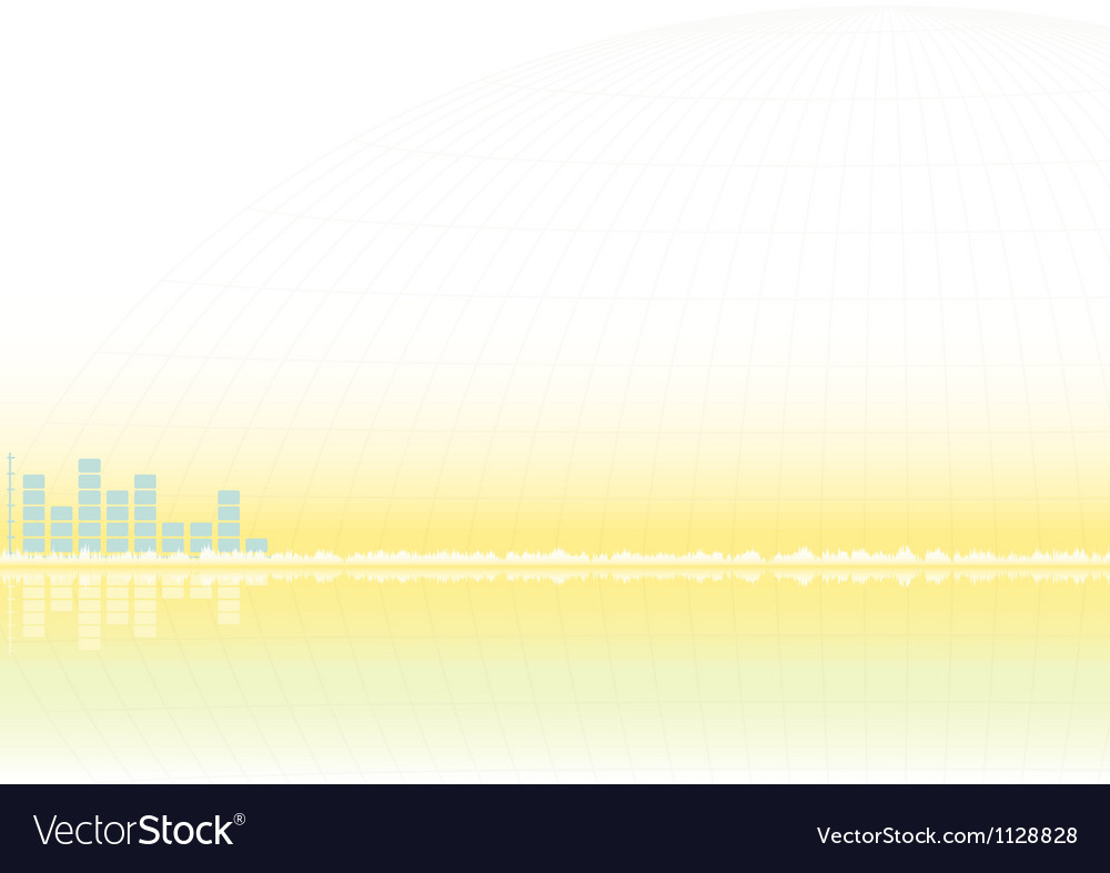 Abstract sound equalizer vector | Price: 1 Credit (USD $1)