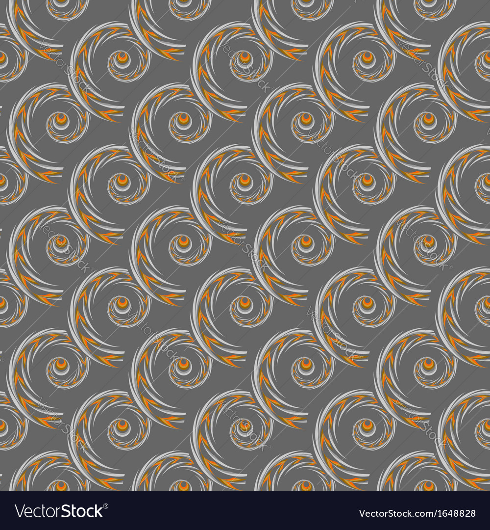 Design seamless spiral pattern vector | Price: 1 Credit (USD $1)