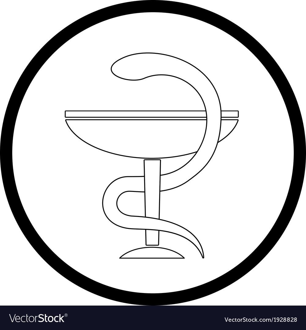 Pharma symbol vector | Price: 1 Credit (USD $1)
