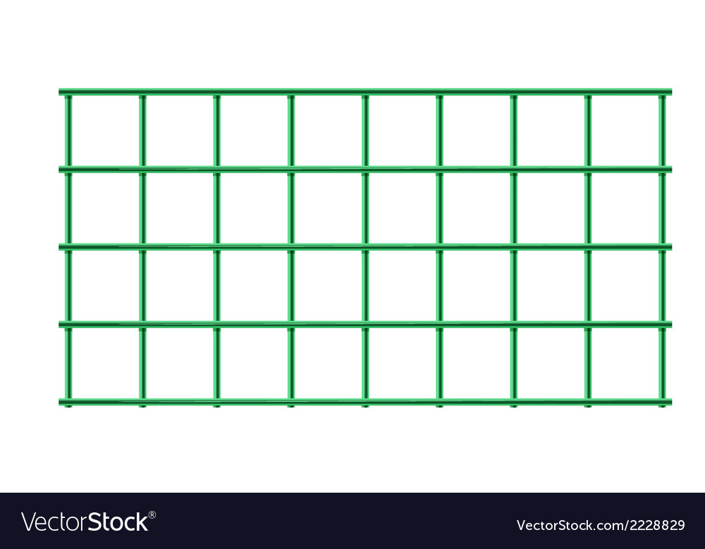 A green cage vector | Price: 1 Credit (USD $1)