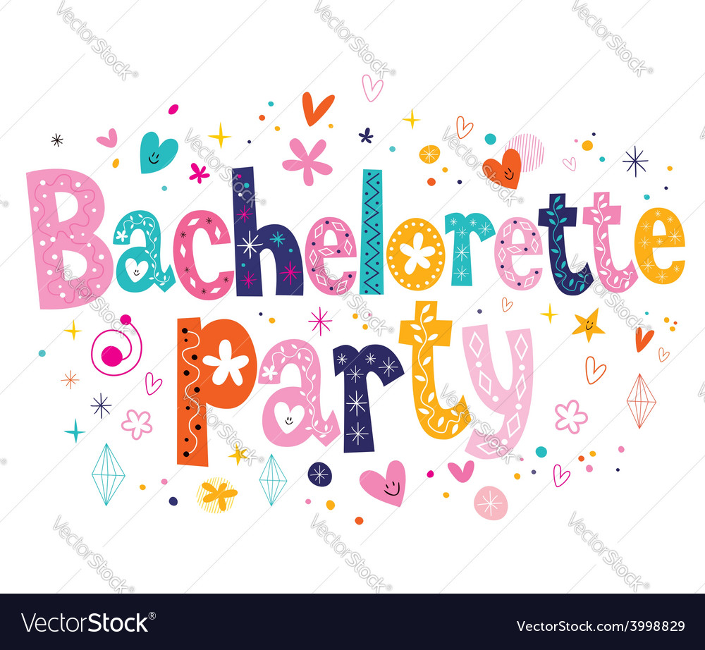 Bachelorette party vector | Price: 1 Credit (USD $1)