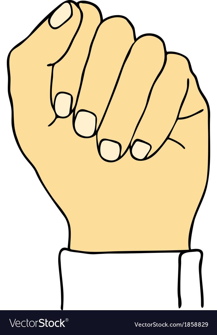 Fist vector   Price: 1 Credit (USD $1)