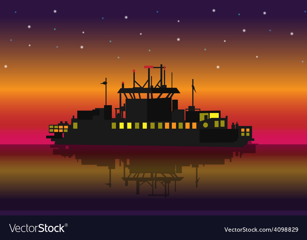 Small ship vector | Price: 3 Credit (USD $3)