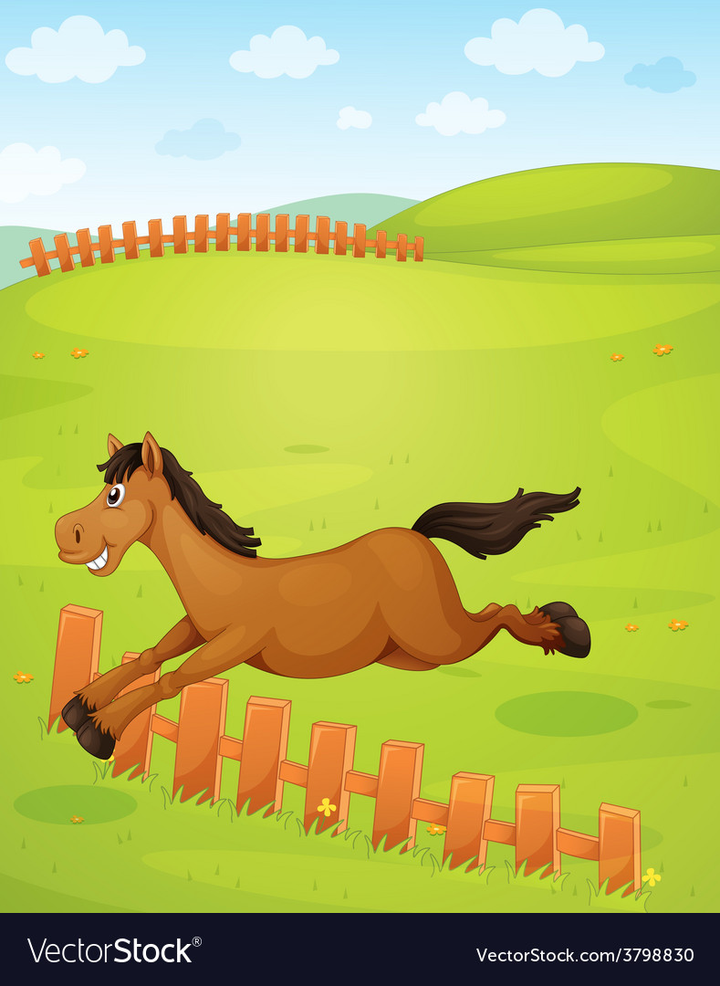 A horse vector | Price: 1 Credit (USD $1)