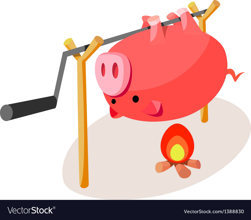 Icon barbecue vector | Price: 1 Credit (USD $1)