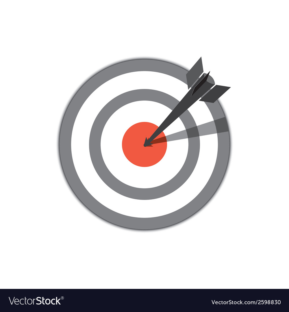 Target hit vector | Price: 1 Credit (USD $1)