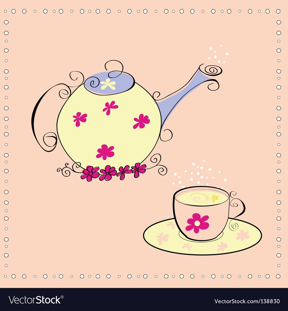 Tea ceremony vector | Price: 1 Credit (USD $1)