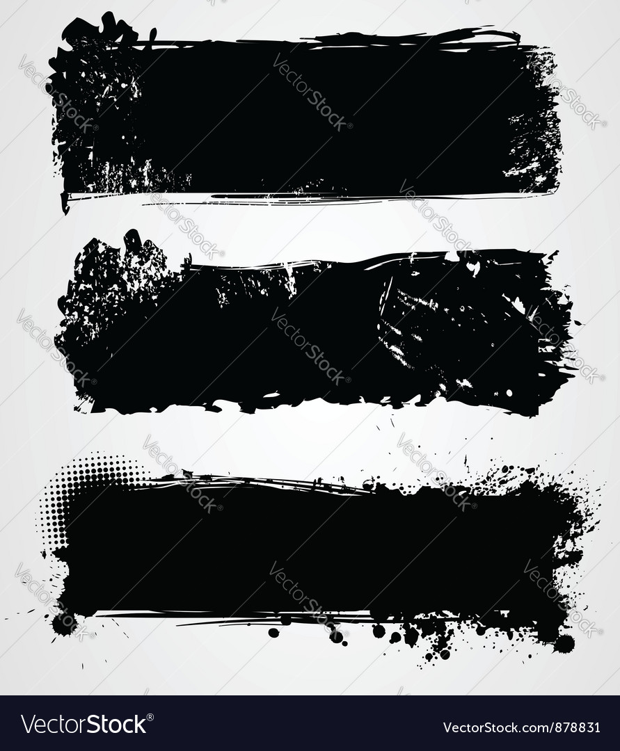 Black grunge vector | Price: 1 Credit (USD $1)