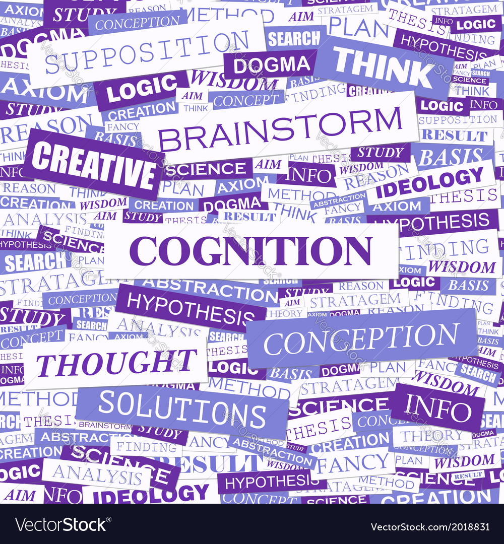 Cognition vector   Price: 1 Credit (USD $1)