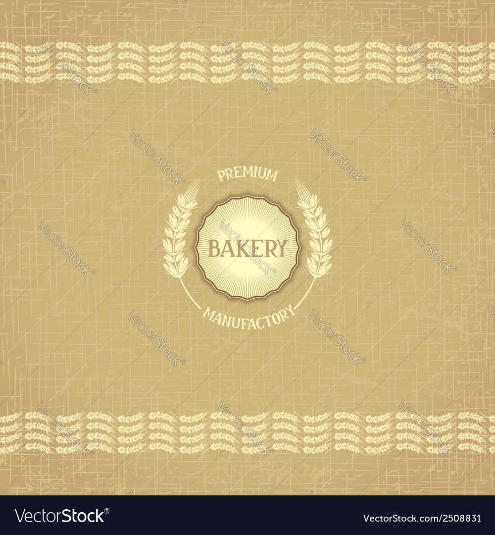 Design for bakery vector   Price: 1 Credit (USD $1)