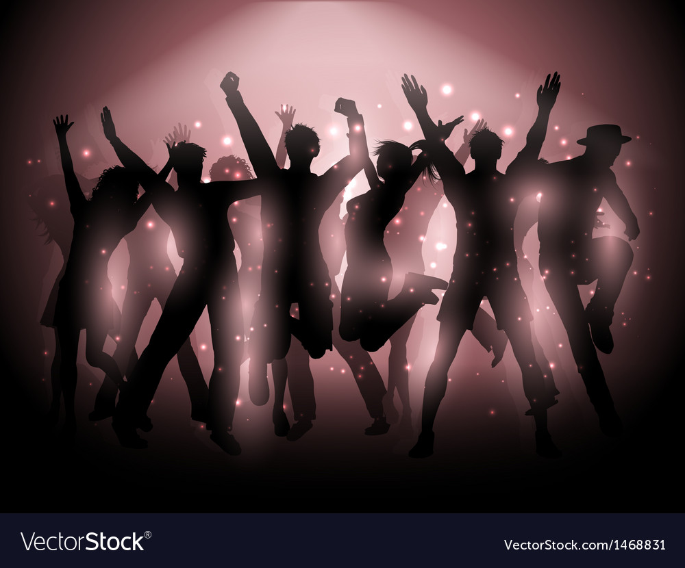 Party people background vector   Price: 1 Credit (USD $1)