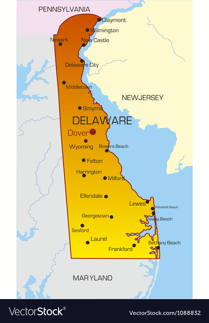 Delaware vector | Price: 1 Credit (USD $1)