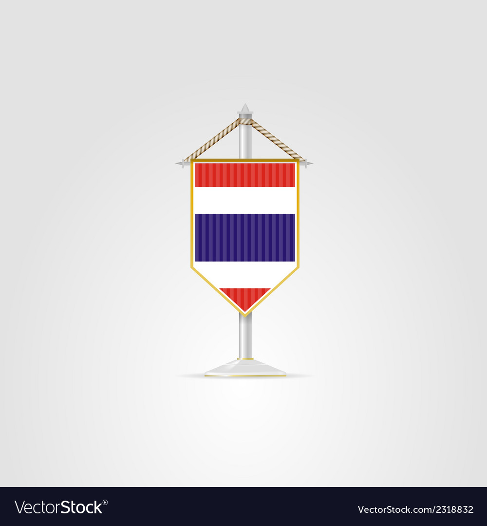 National symbols of southeast asia thailand vector | Price: 1 Credit (USD $1)