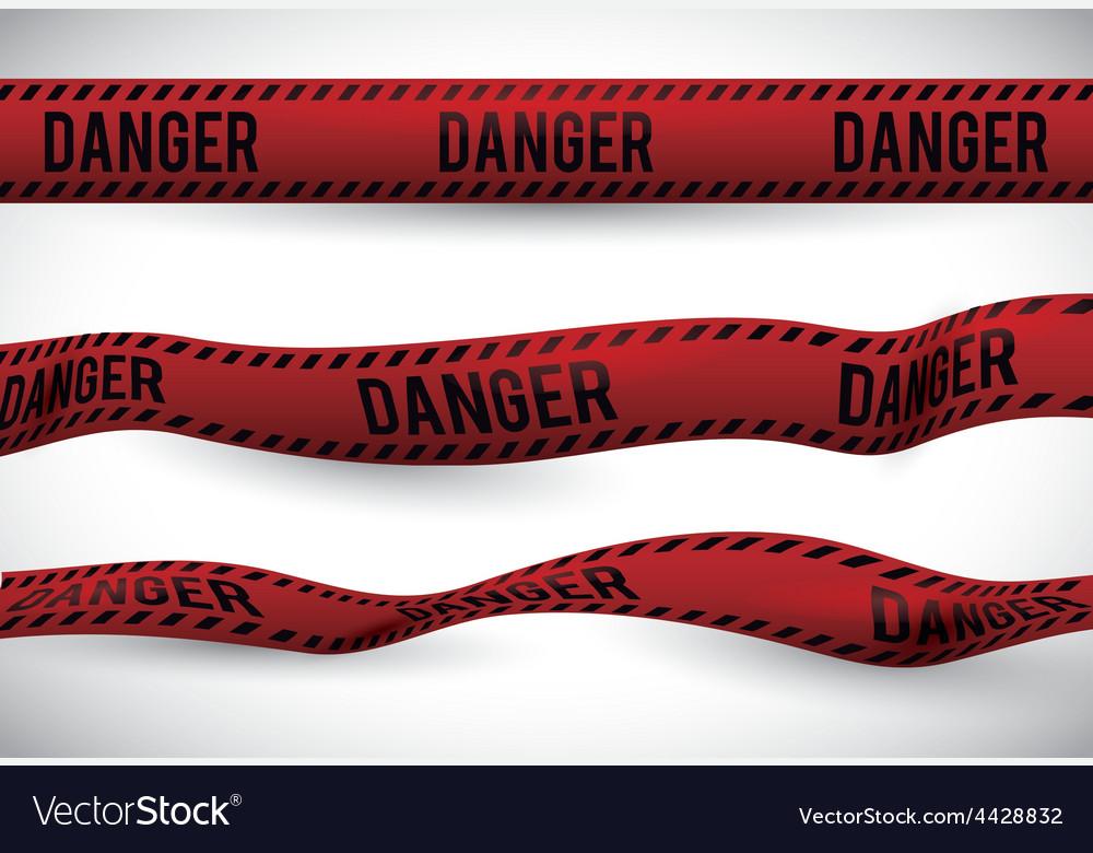 Red tape design vector | Price: 1 Credit (USD $1)
