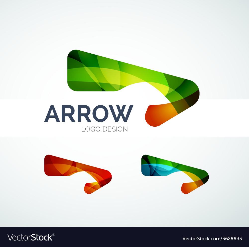 Abstract arrow logo design vector   Price: 1 Credit (USD $1)