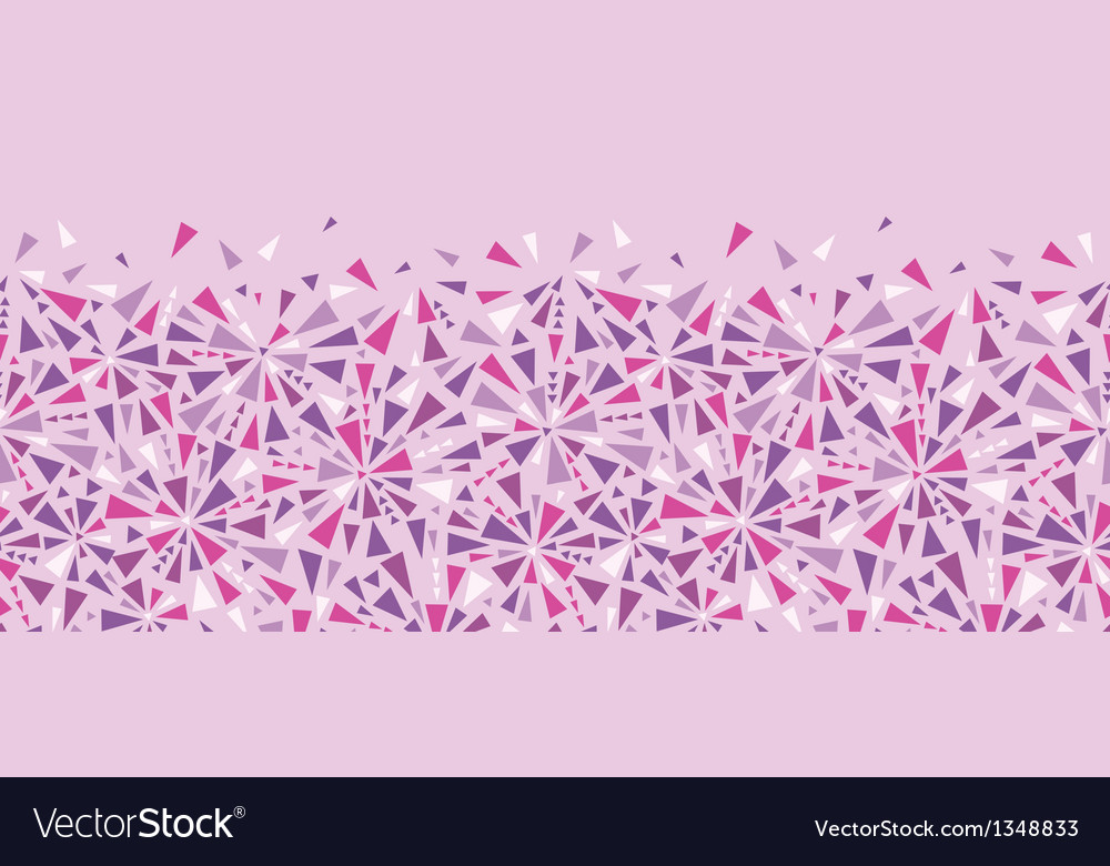 Abstract colorful triangles texture horizontal vector | Price: 1 Credit (USD $1)