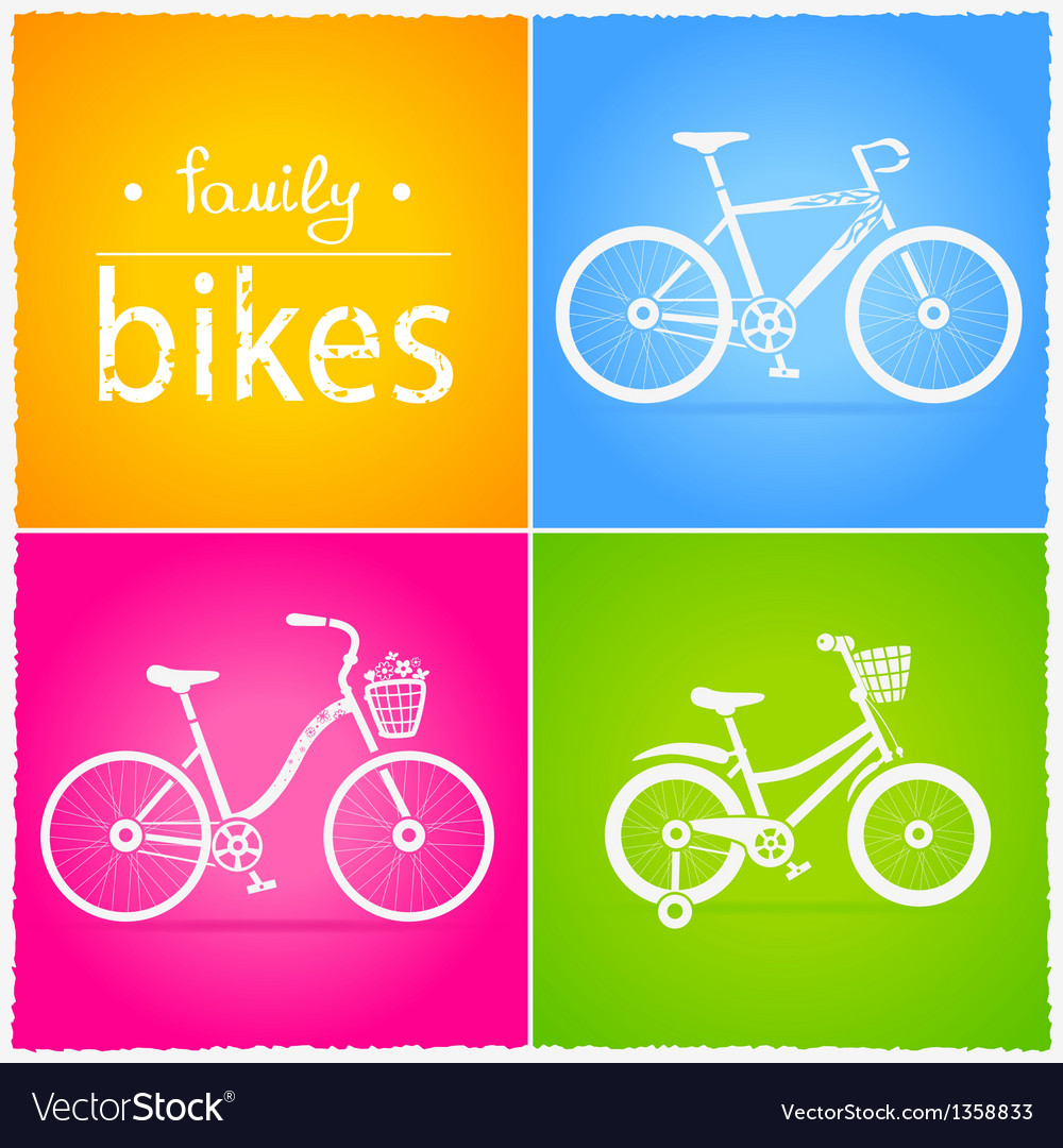 Bikes vector | Price: 1 Credit (USD $1)