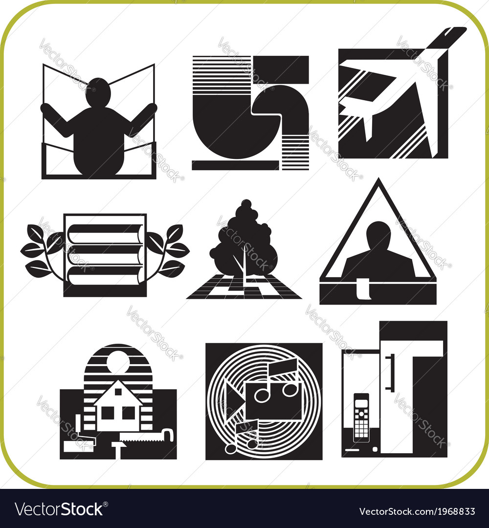 Repair and construction - set of icons vector | Price: 1 Credit (USD $1)