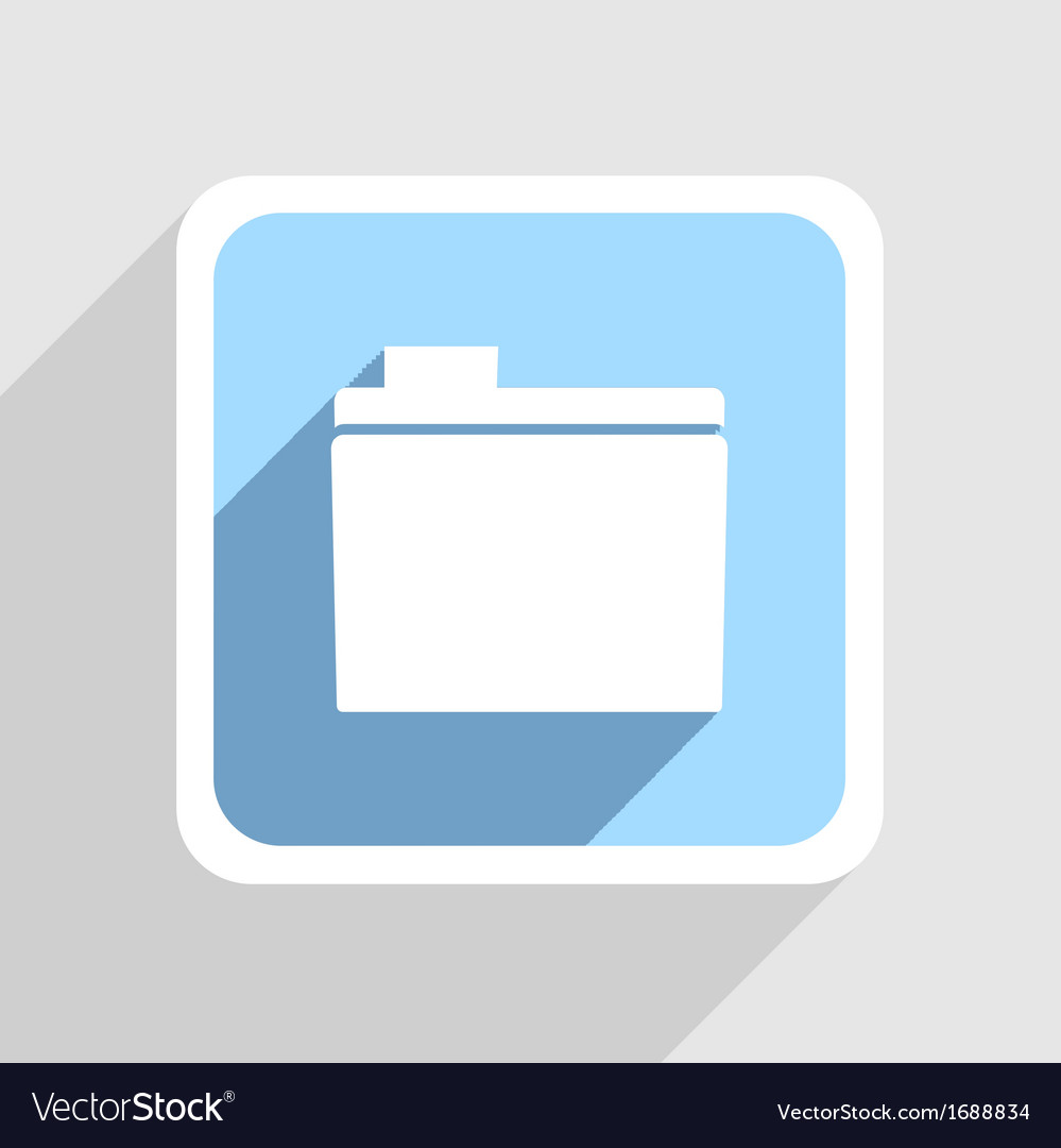 Blue icon on gray background eps10 vector | Price: 1 Credit (USD $1)