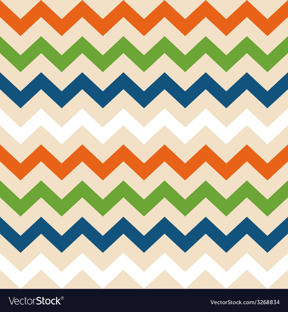 Colorful retro wave seamless pattern vector | Price: 1 Credit (USD $1)