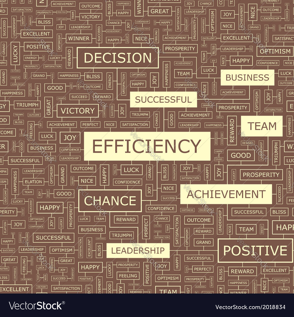 Efficiency vector   Price: 1 Credit (USD $1)