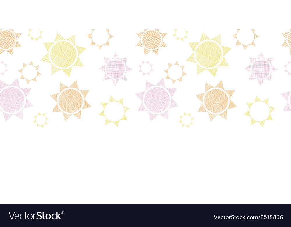 Abstract textile colroful suns geometric vector | Price: 1 Credit (USD $1)