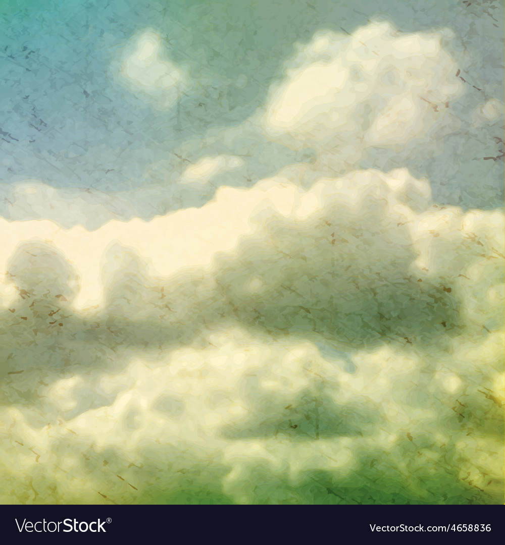 Clouds grungy  texture vector | Price: 1 Credit (USD $1)