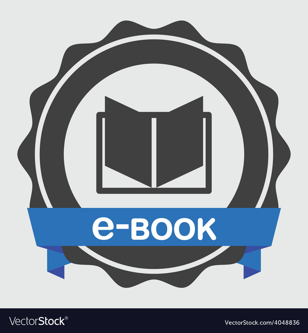 E-book concept vector | Price: 1 Credit (USD $1)