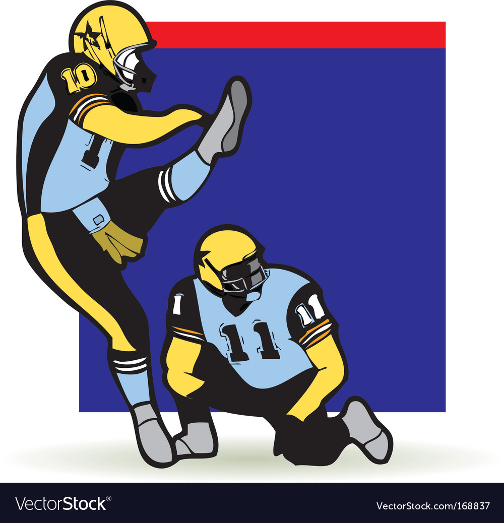 American football graphic vector | Price: 1 Credit (USD $1)