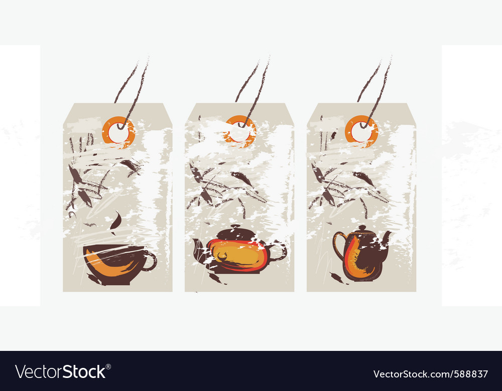 Asian tags vector | Price: 1 Credit (USD $1)