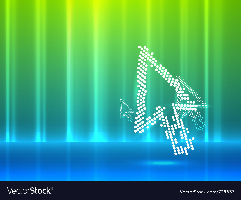 Mouse pointer abstract background vector | Price: 1 Credit (USD $1)