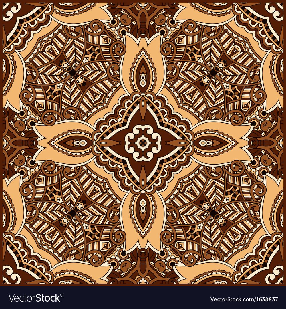 Traditional ornamental floral paisley bandanna vector | Price: 1 Credit (USD $1)