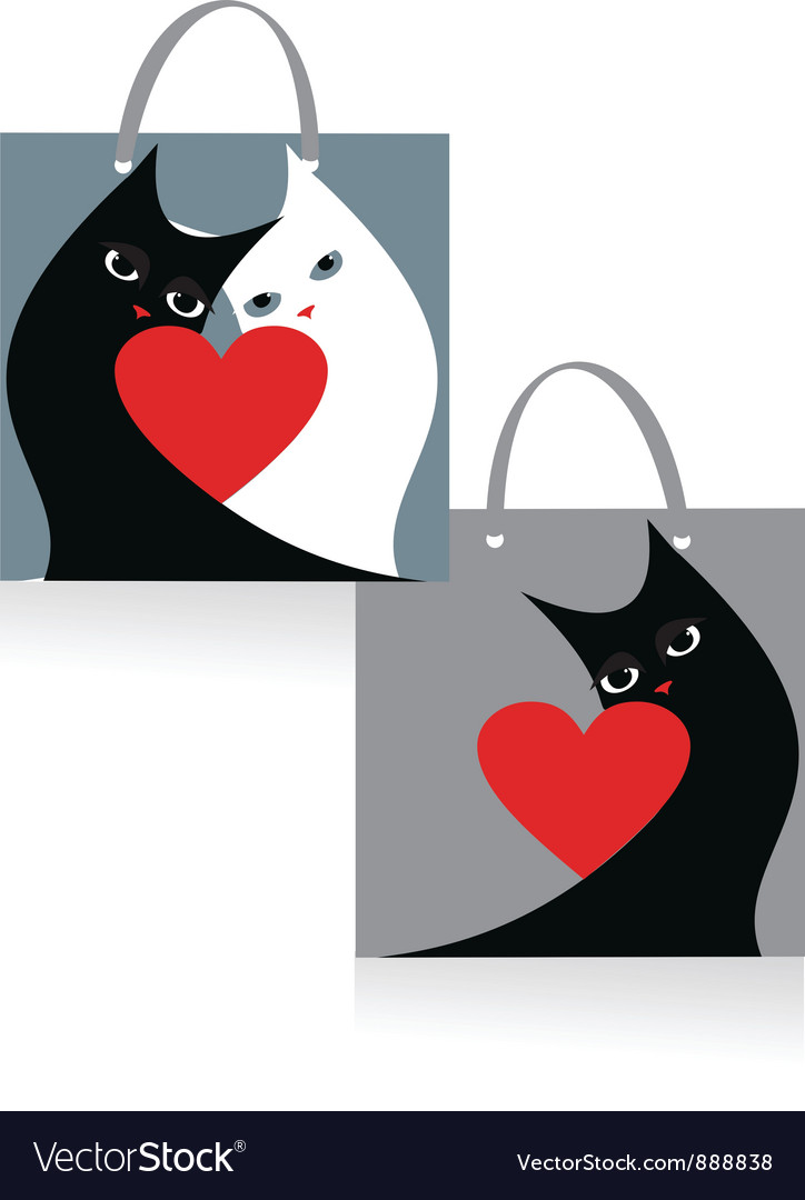 Package cats vector | Price: 1 Credit (USD $1)