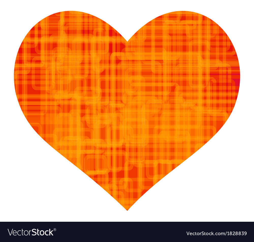 Abstract color heart vector | Price: 1 Credit (USD $1)