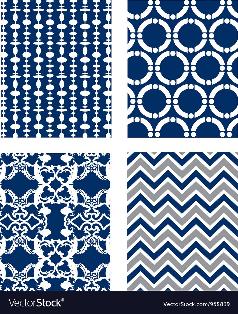 Backgrounds set pattern wallpaper vector | Price: 1 Credit (USD $1)