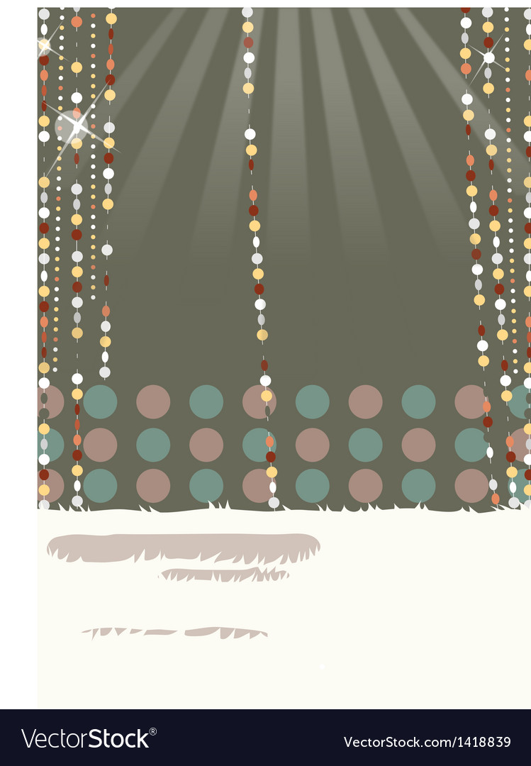 Retro glamorous decorations vector | Price: 1 Credit (USD $1)