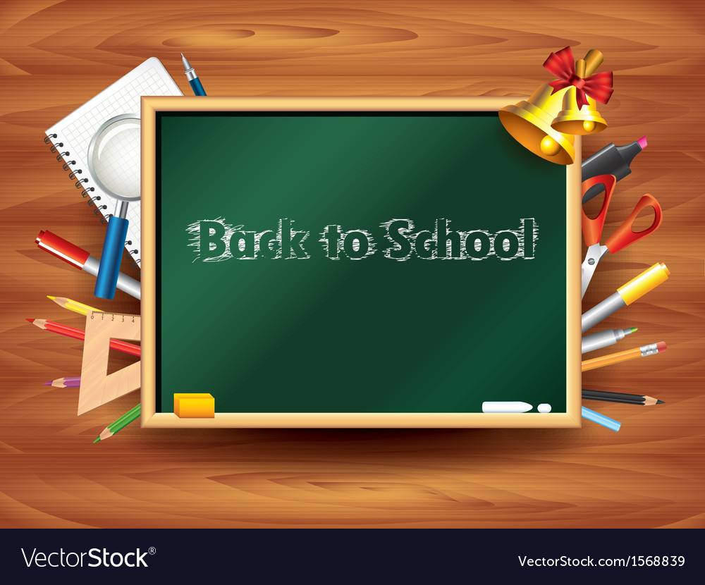 School board tools background vector | Price: 1 Credit (USD $1)