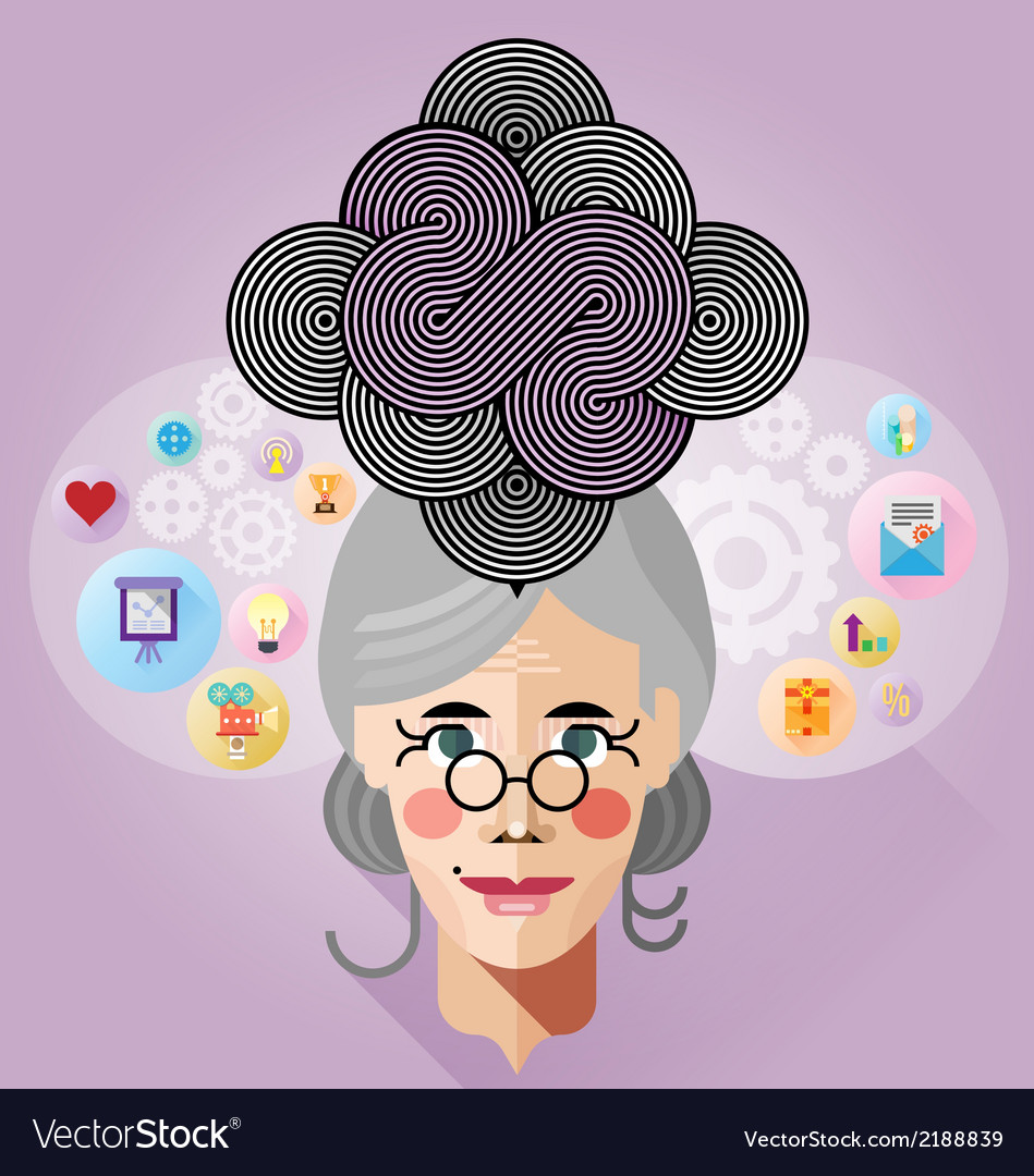 Thinking process vector | Price: 1 Credit (USD $1)