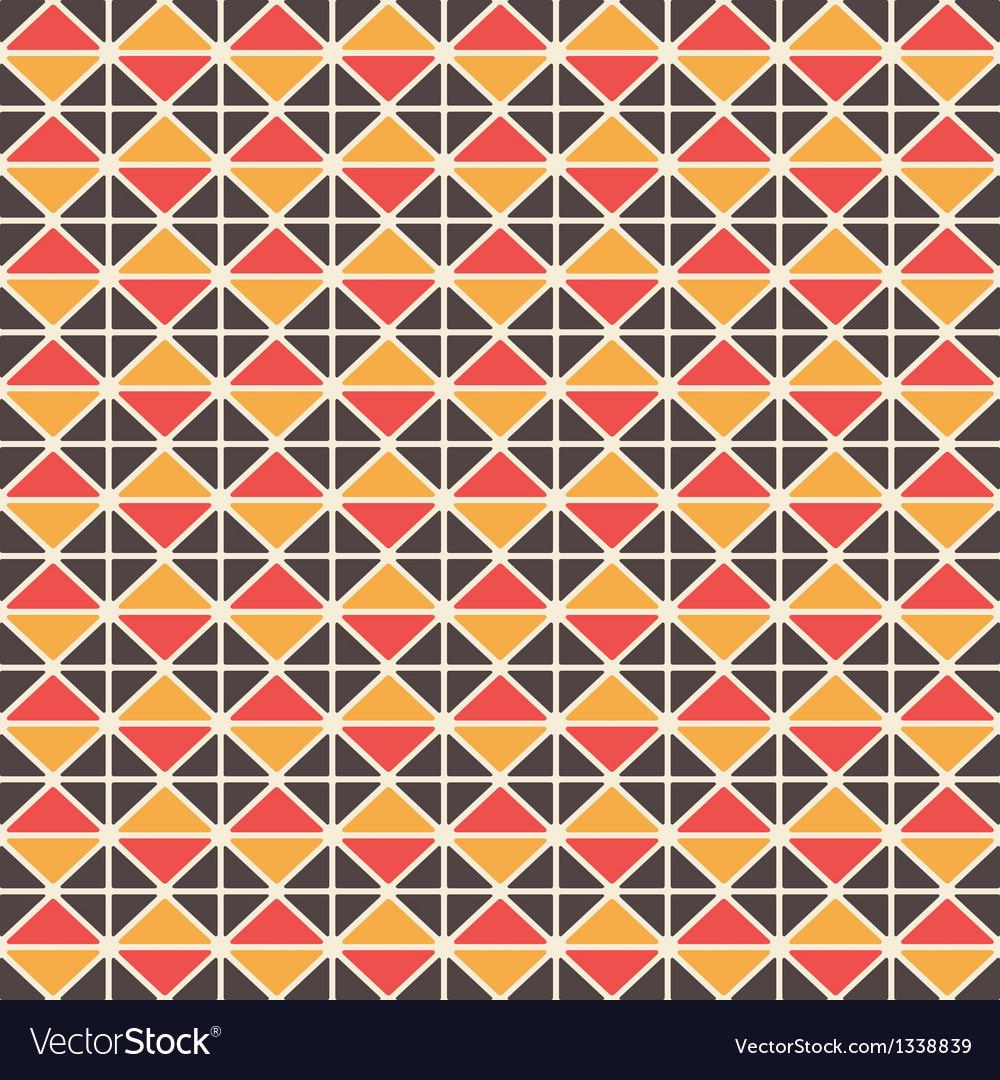 Triangluar retro pattern vector | Price: 1 Credit (USD $1)