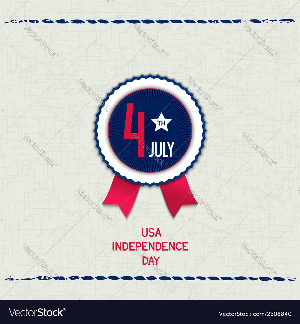 America 4th july background vector | Price: 1 Credit (USD $1)