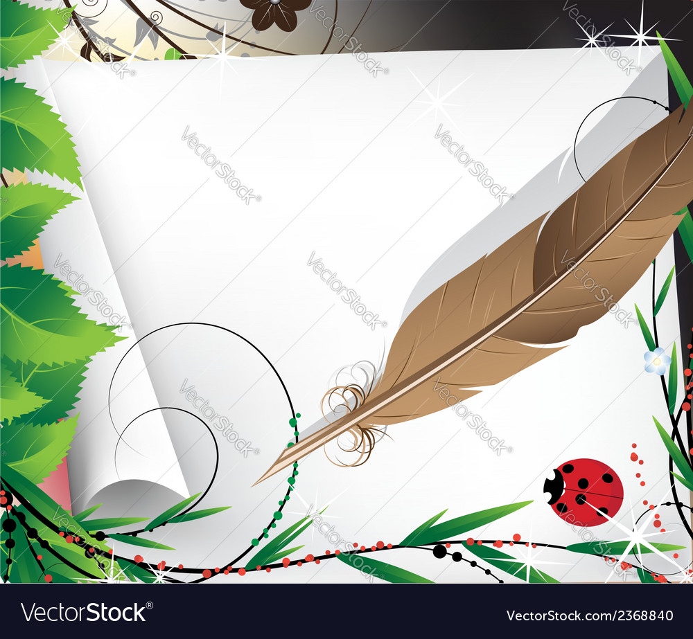 Fairytale background vector | Price: 1 Credit (USD $1)