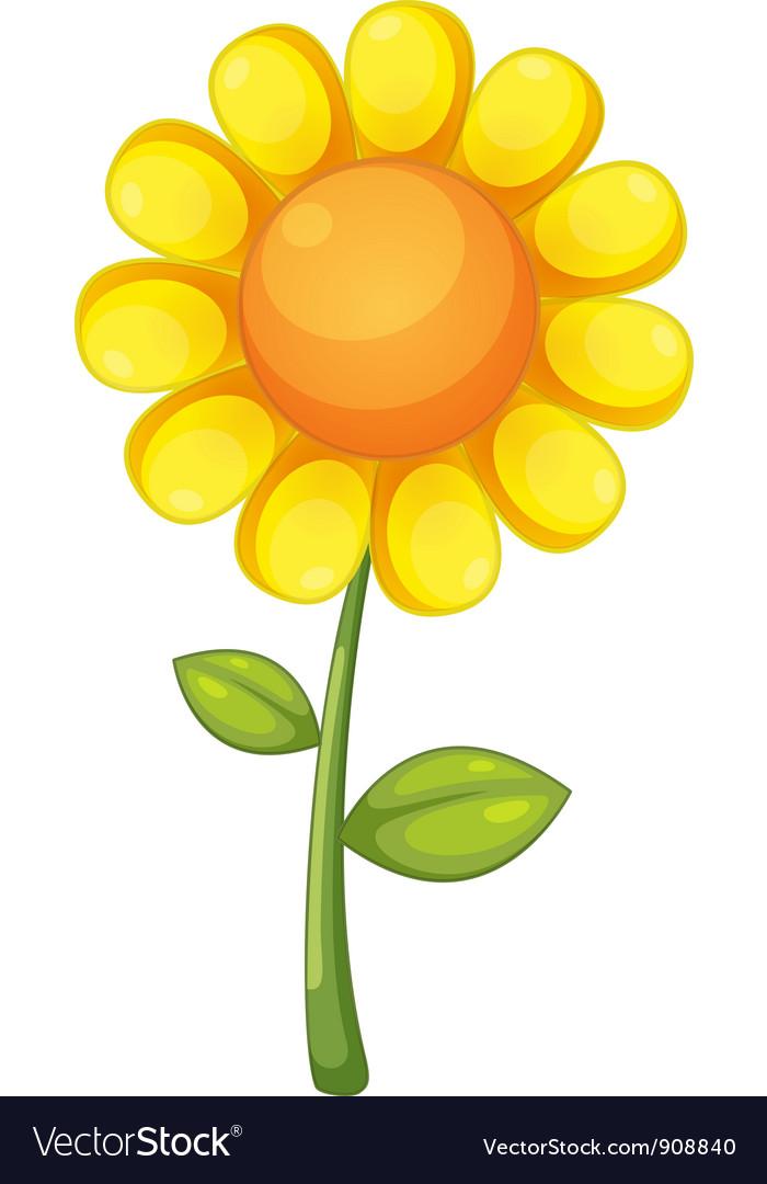 Flower vector | Price: 1 Credit (USD $1)