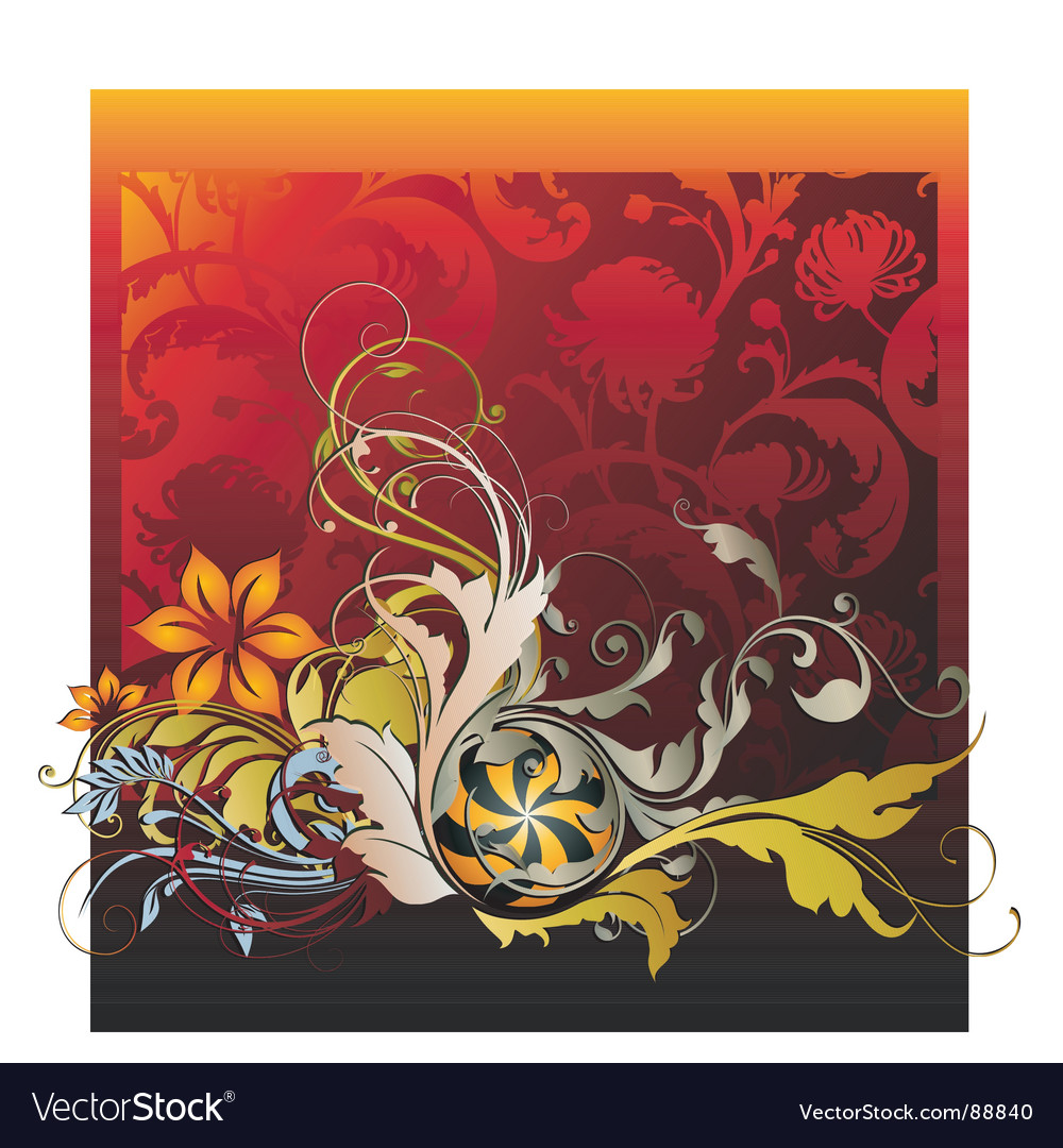 October flourishes vector   Price: 1 Credit (USD $1)