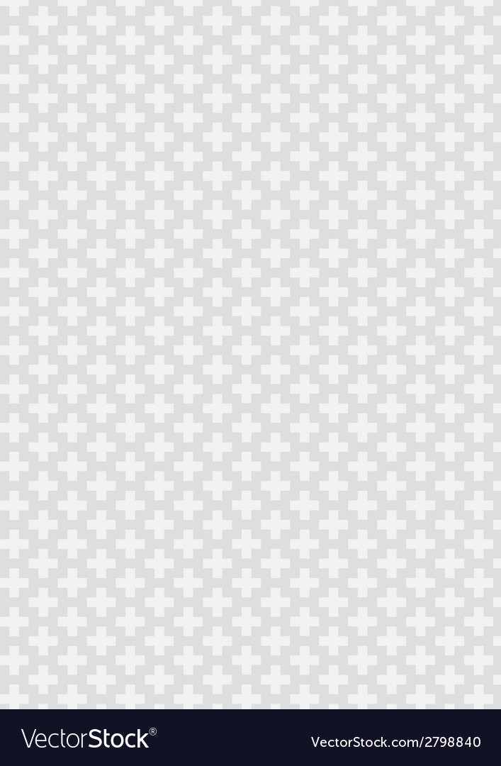 Plus pattern background vector | Price: 1 Credit (USD $1)