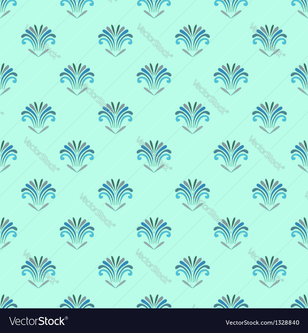 Sea flowers vector | Price: 1 Credit (USD $1)