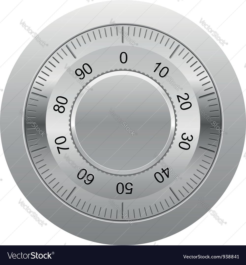 Combination lock 01 vector | Price: 1 Credit (USD $1)