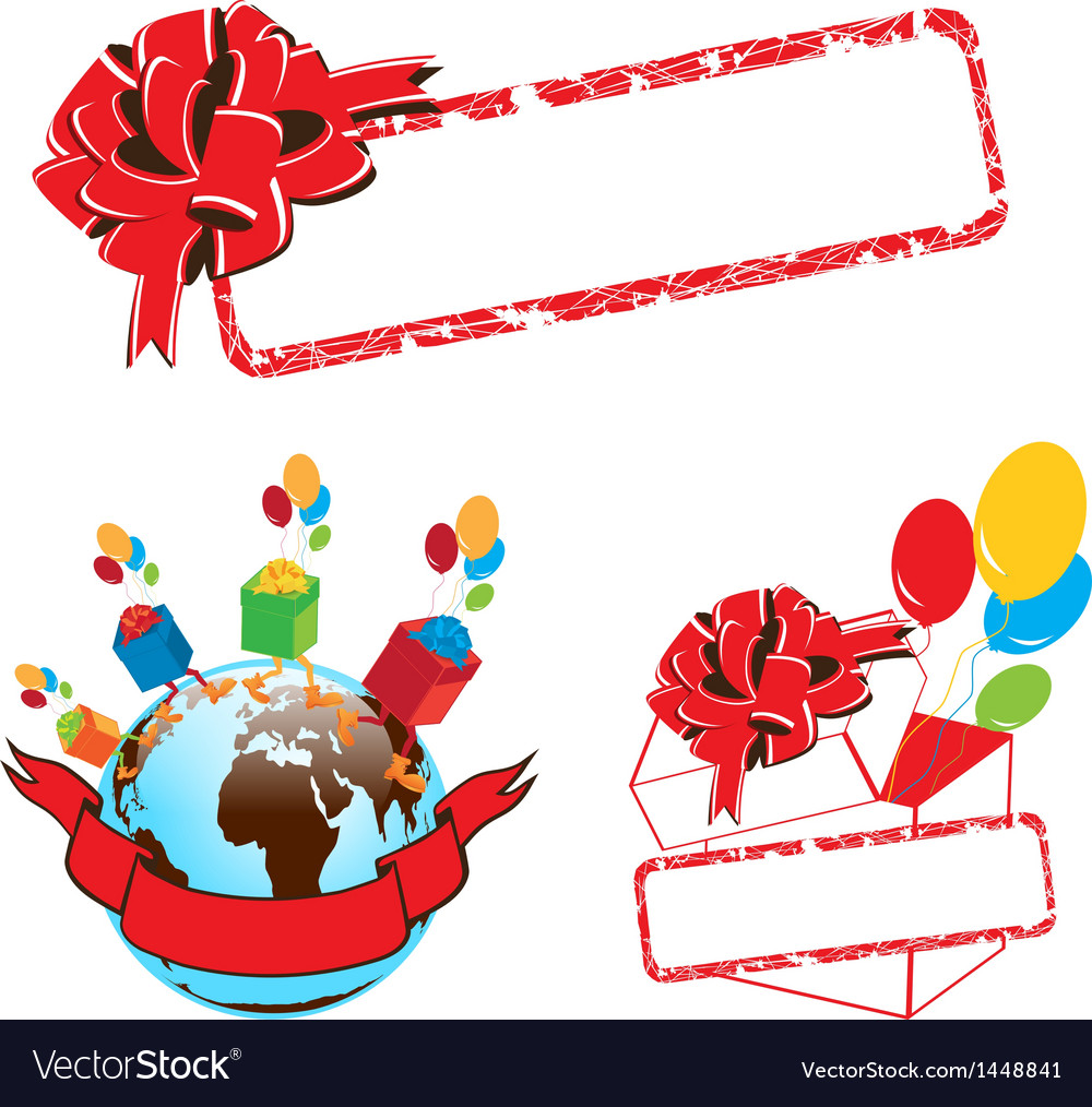 Gift set vector | Price: 1 Credit (USD $1)