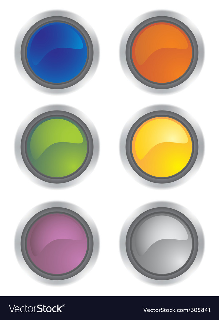 Glossy icons vector   Price: 1 Credit (USD $1)
